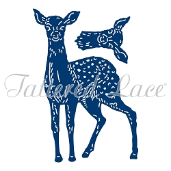 Tattered Lace - Dies - Forest Pines Deer - Mother