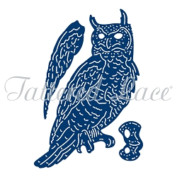 Tattered Lace - Dies - Forest Pines Owl