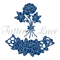 Tattered Lace - Dies - Unicorn Flowers