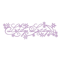 Tattered Lace - Dies - Disney Frozen Let It Go Border