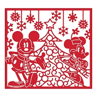 Tattered Lace - Dies - Disney Vintage Mickey & Minnie Tapestry