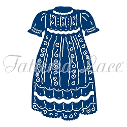 Tattered Lace - Dies - Essentials Christening Gown