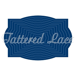 Tattered Lace - Dies - Rectangle Plaque