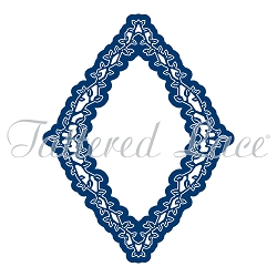 Tattered Lace - Dies - Engaging Elements Diamond Frame