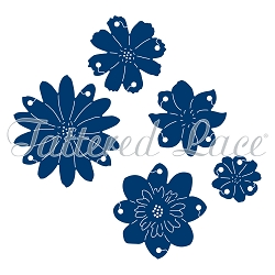 Tattered Lace - Dies - Interlocking Flowers
