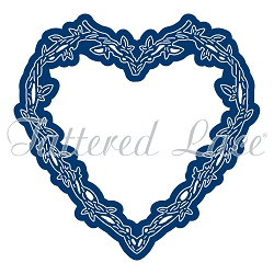 Tattered Lace - Dies - Engaging Elements Heart Frame