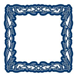 Tattered Lace - Dies - Engaging Elements Square Frame
