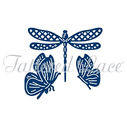 Tattered Lace - Dies - Dragonfly and Butterflies