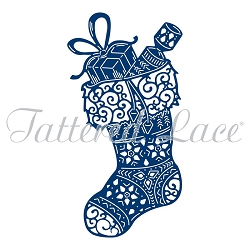 Tattered Lace - Dies - Ornate Stocking