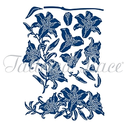 Tattered Lace - Dies - 3D Decoupage Lily