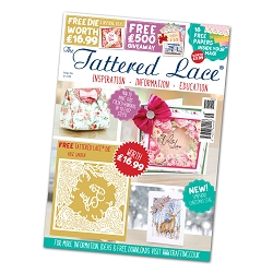 Tattered Lace - Tutorial Magazine & Die Kit - Issue 56