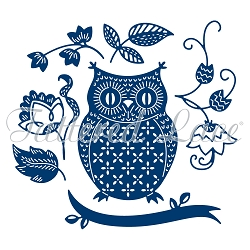 Tattered Lace - Dies - Olly Owl