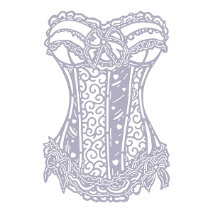 Tattered Lace - Dies - Nancy's Signature Corset
