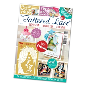 Tattered Lace - Tutorial Magazine & Die Kit - Issue 53