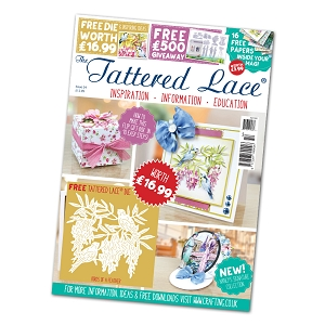 Tattered Lace - Tutorial Magazine & Die Kit - Issue 54