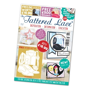 Tattered Lace - Tutorial Magazine & Die Kit - Issue 55