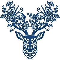 Tattered Lace - Dies - Floral Stag