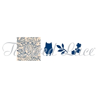 Tattered Lace - Dies - Trio Woodland Glade