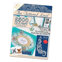 Tattered Lace - Tutorial Magazine & Die Kit - Issue 28