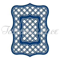Tattered Lace - Dies - Lacy Diamond Trellis