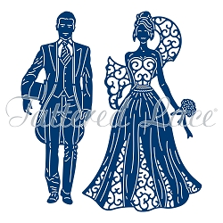 Tattered Lace - Dies - Bride & Groom 2018