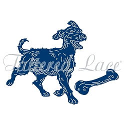 Tattered Lace - Dies - Playful Pup :)