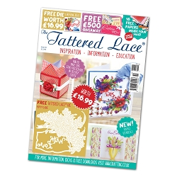 Tattered Lace - Tutorial Magazine & Die Kit - Issue 51