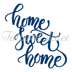 Tattered Lace - Dies - Home Sweet Home