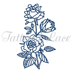 Tattered Lace - Dies - Sweet Rose