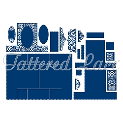 Tattered Lace - Dies - Stepper 2018  (requires large format die cut machine)