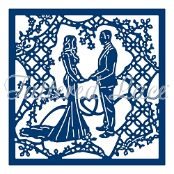 Tattered Lace - Dies - Picture Show Lace Mesh Wedding