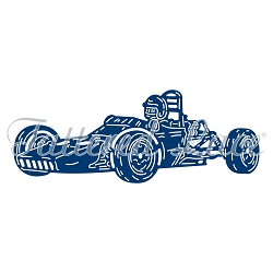 Tattered Lace - Dies - Vintage Racing Car