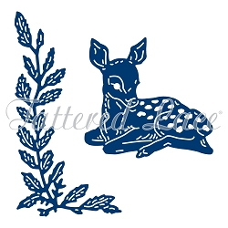 Tattered Lace - Dies - Foliage Deer