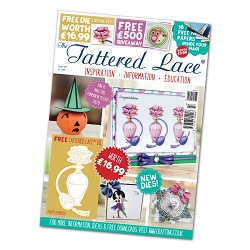 Tattered Lace - Tutorial Magazine & Die Kit - Issue 47