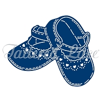 Tattered Lace - Dies - Essentials Baby Shoes