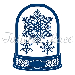 Tattered Lace - Dies - Snowglobe Card Shape