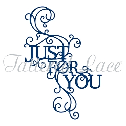 Tattered Lace - Dies - Just For You Swirl