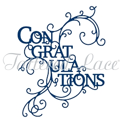 Tattered Lace - Dies - Congratulations Swirl