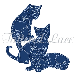 Tattered Lace - Dies - Cute Kittens