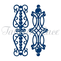 Tattered Lace - Dies - Pearl Brooches
