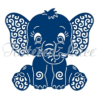 Tattered Lace - Dies - Baby Elephant