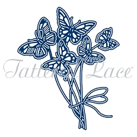 Tattered Lace - Dies - Essentials Butterfly Bouquet