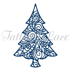 Tattered Lace - Dies - Delicate Christmas Tree