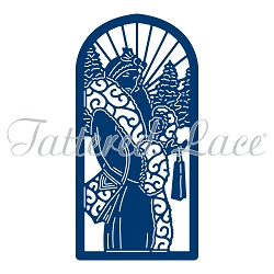 Tattered Lace - Dies - Art Deco Christmas Scene