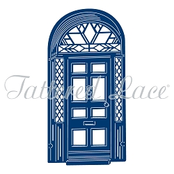 Tattered Lace - Dies - Art Deco Christmas Front Door