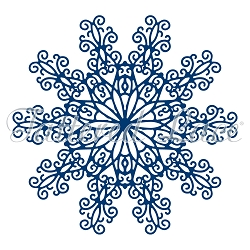 Tattered Lace - Dies - Falling Snowflakes