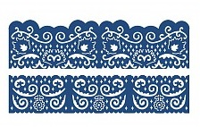 New Tattered Lace Florentine Fancy Edges Set 2 Borders Cutting Dies D223