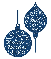 Tattered Lace - Dies - Greeting Baubles