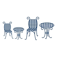 Tattered Lace - Dies - Table and Chairs