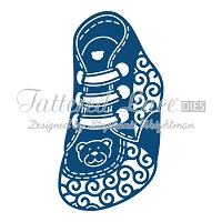 Tattered Lace - Dies - Baby Boy Booties